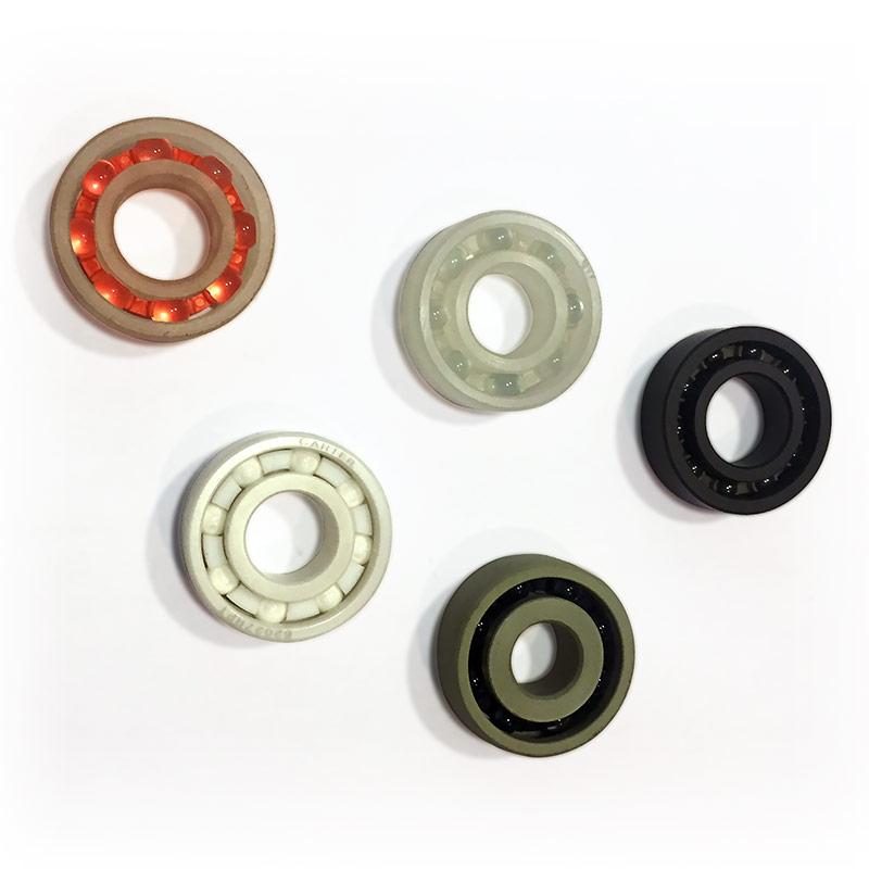 Plastic & Ceramic ball bearings